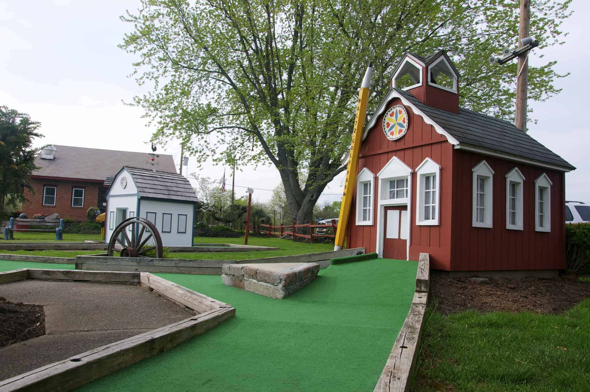 Waltz Golf Farm Miniature Golf 2017 Limerick PA Pennsylvania Retro Roadmap