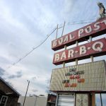 The Goal Post – Animated Neon Sign Now at Betty's Bar-B-Q!