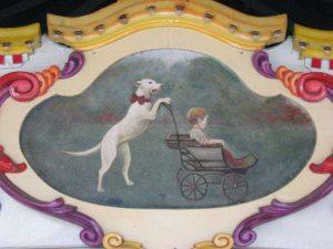 nanny-dog-painting-kings-dominion-carousel-richmond-va-tikisoo