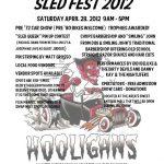 EVENT Sledfest 2012 at the Old Sledworks