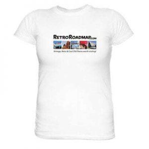Retro Roadmap Tee Shirt White