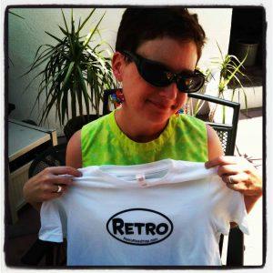 Retro Roadmap tee shirt t-shirt