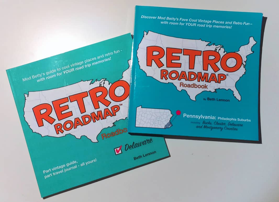Retro Roadmap Roadbooks Delaware Philadelphia Suburbs Aug 2017
