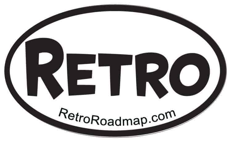 Retro Roamdap Oval Logo