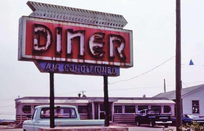 Bridgeville Delaware Diner Neon Sign