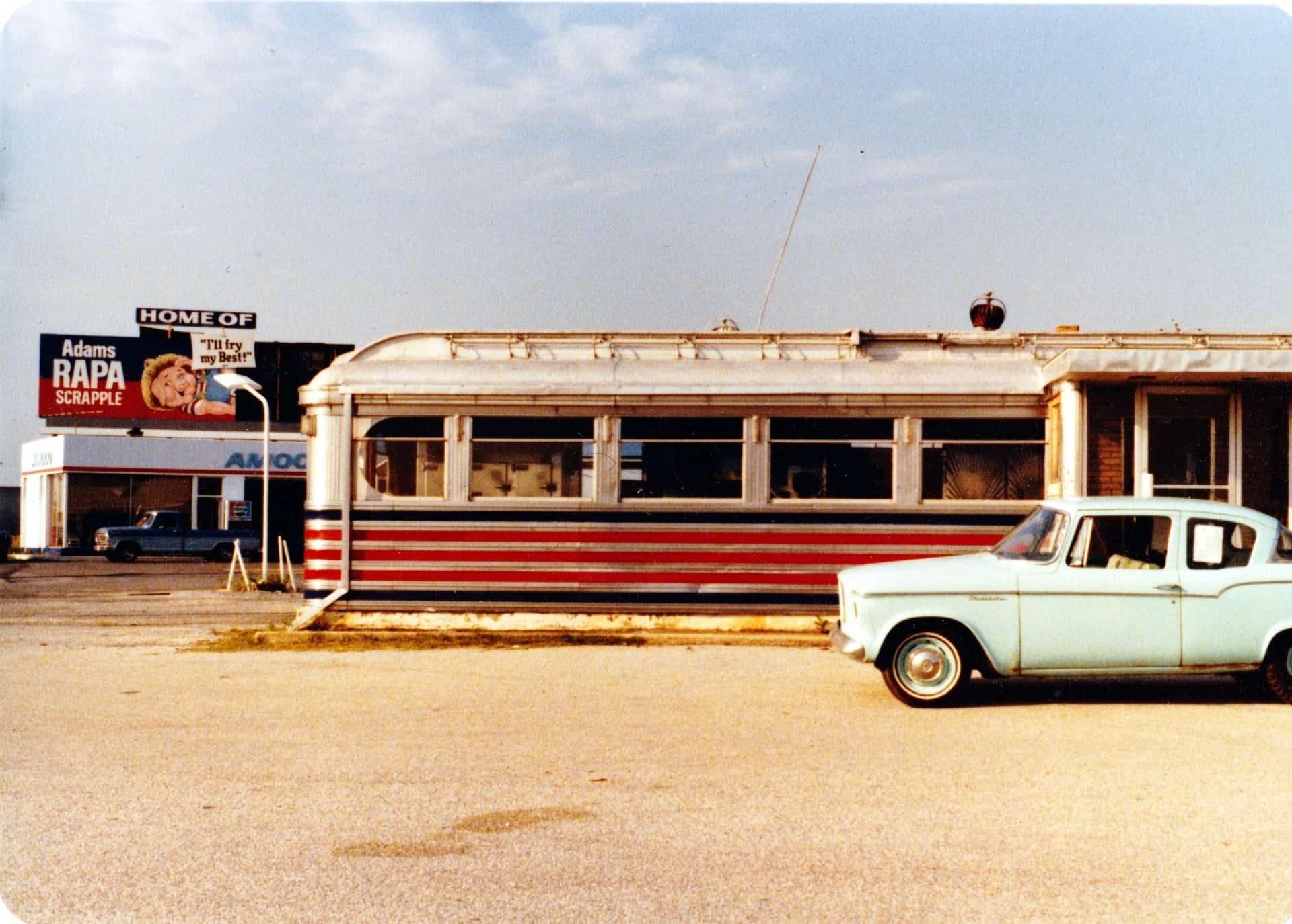 1980 Bridgeville Delaware Diner Vintage Photo DinerHunter