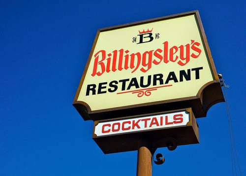 Billingsley's Restaurant Los Angeles CA Retro Roadmap