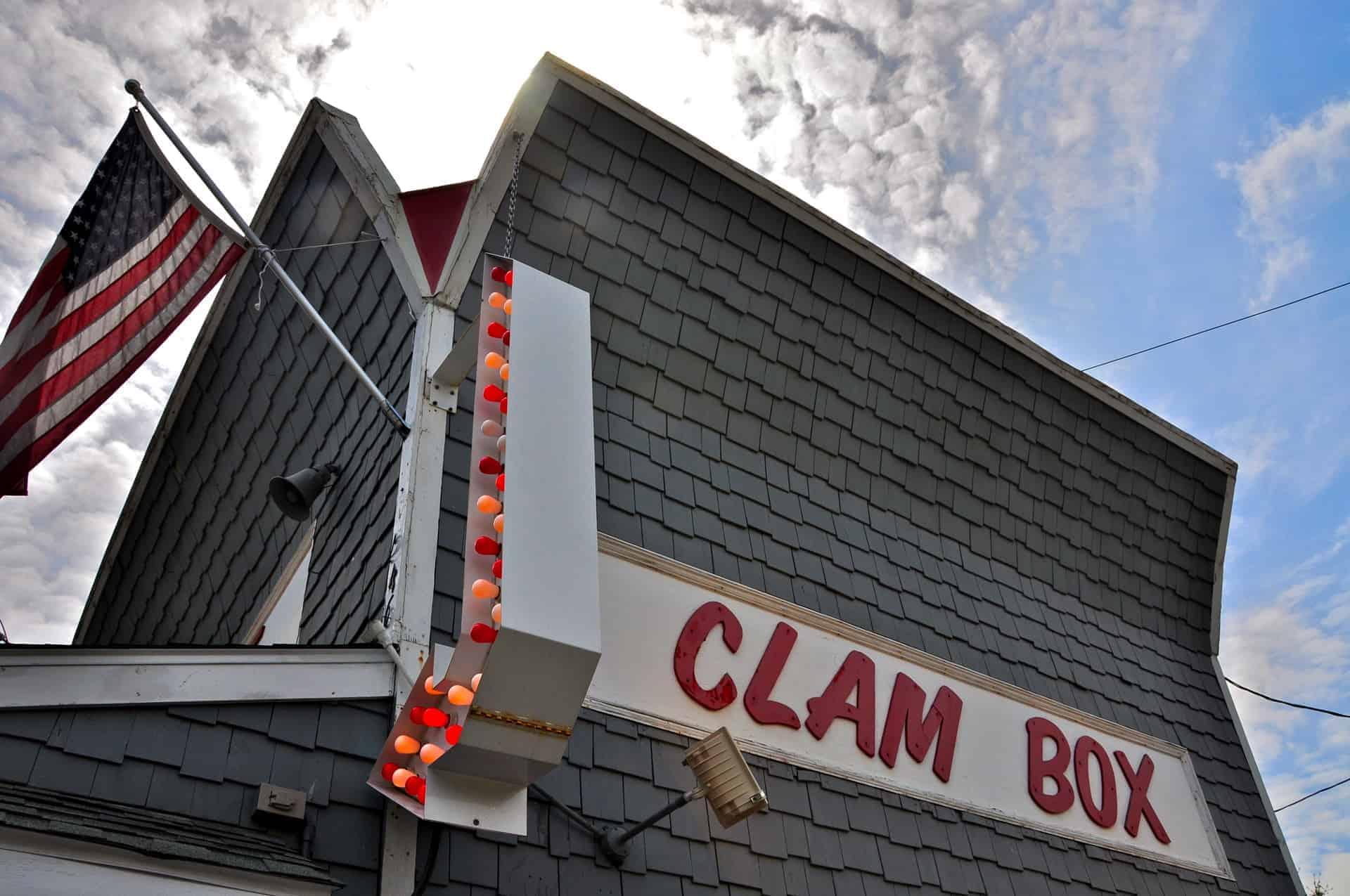 Clam Box Ipswich MA Retro Roadmap
