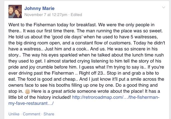 fisherman fb post