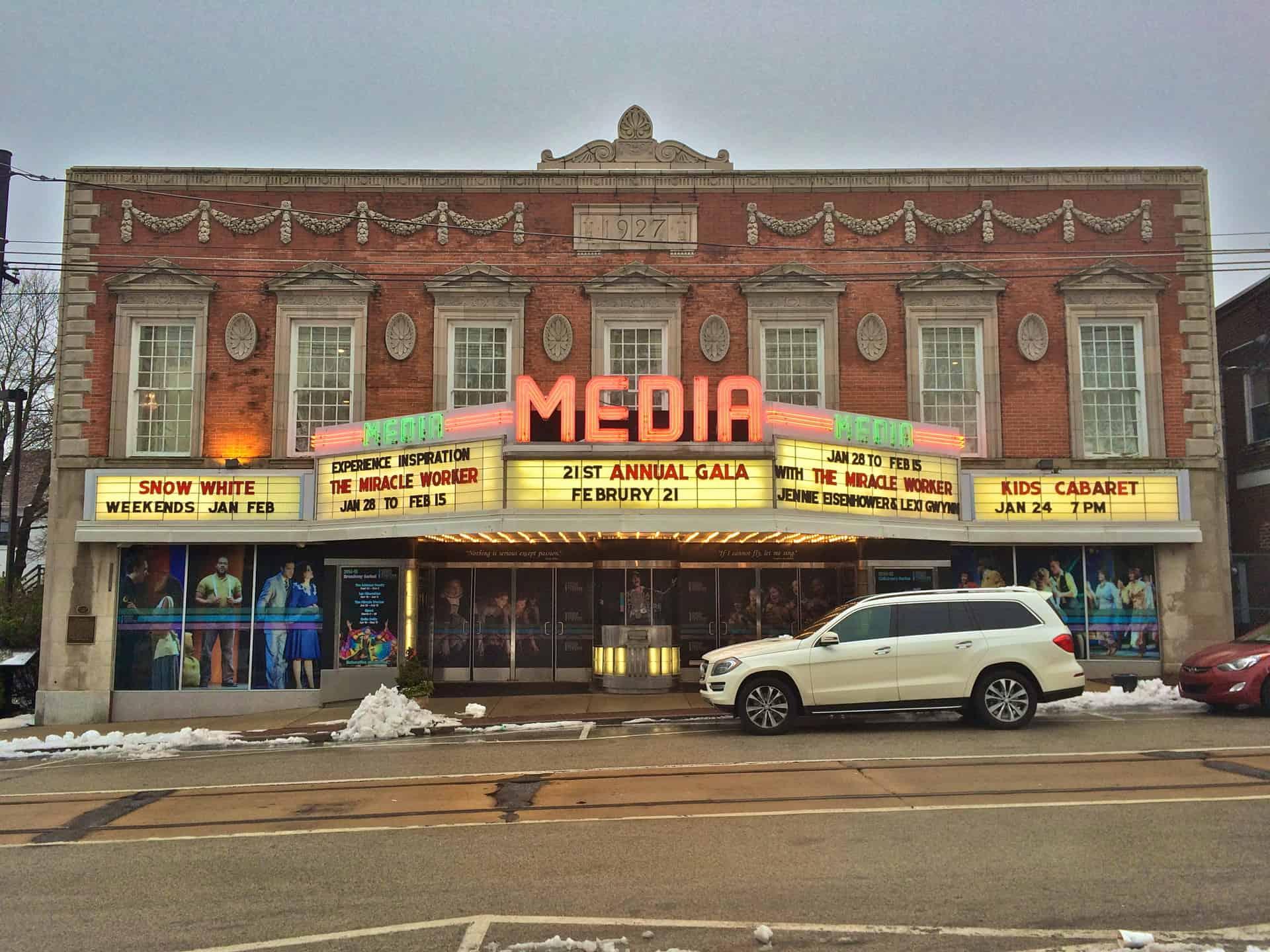 Media Theatre Media PA Retro Roadmap 2015