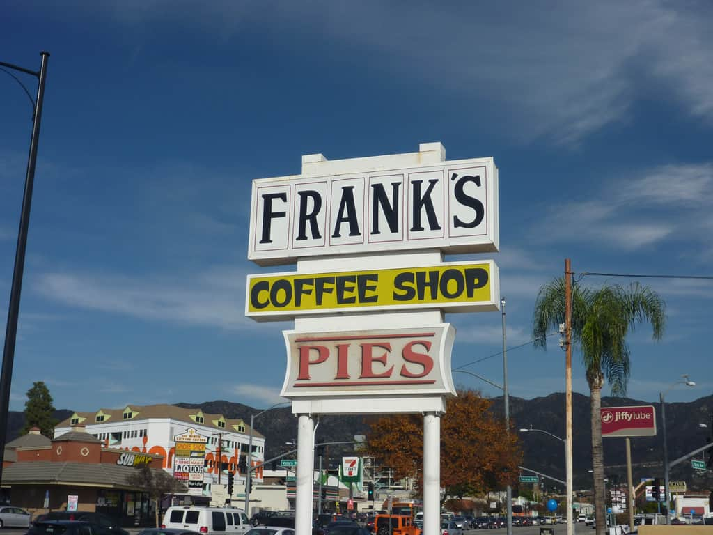 Franks coffee shop burbank ca