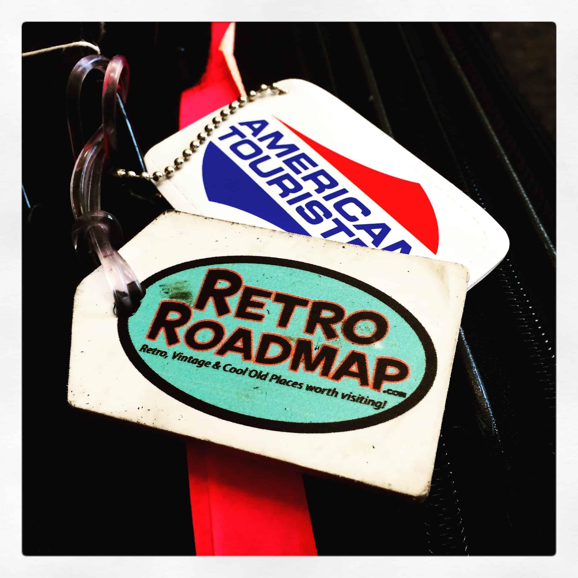 Retro Roadmap International Travel