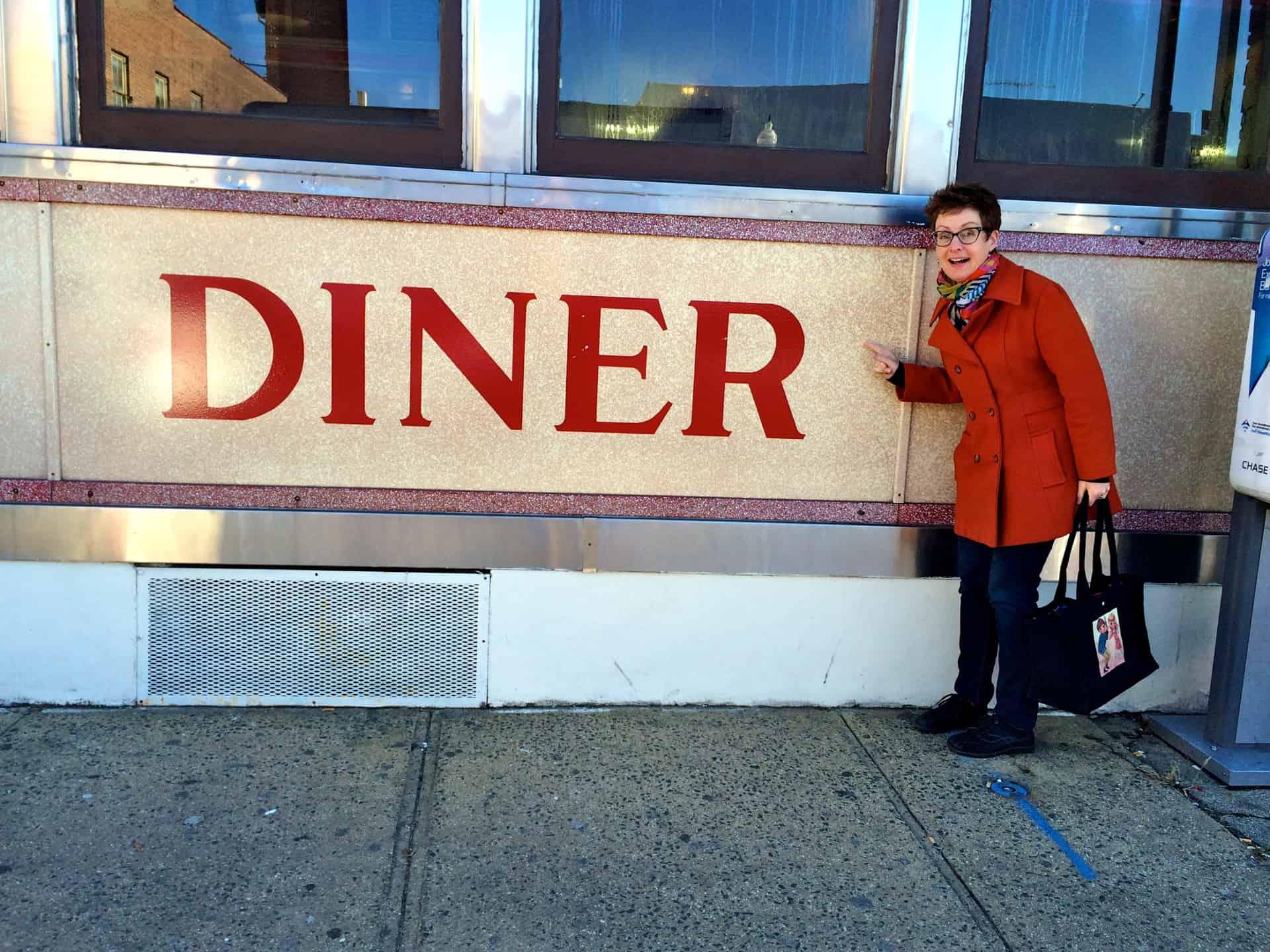 Center Diner Peekskill NY Mod Betty Retro Roadmap