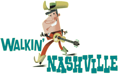 Walkin Nashville Logo Music City Legends Guided Walking Tour