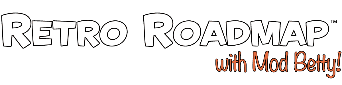 Retro Roadmap Footer Logo