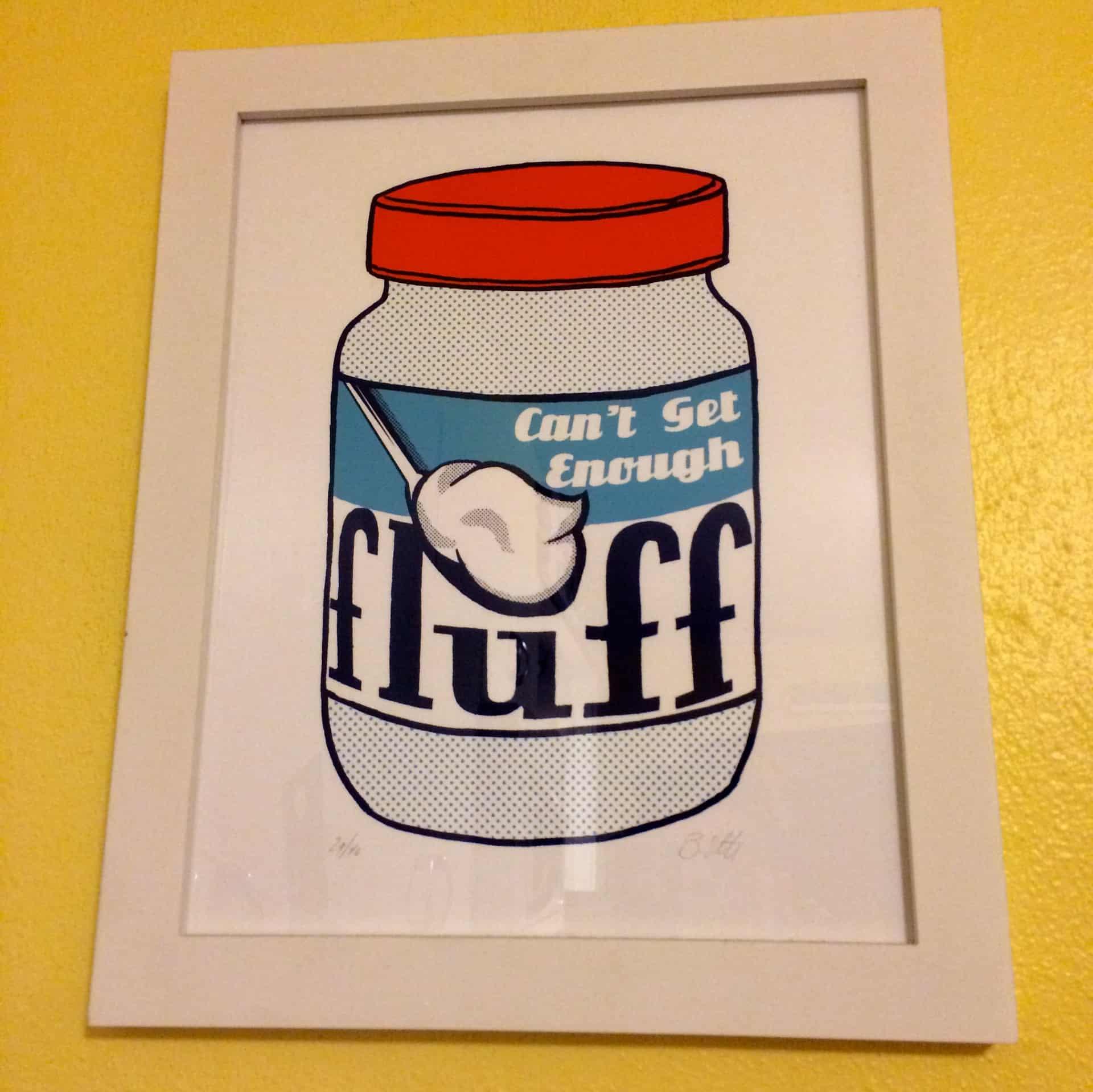 Fluff Print Yardsale Press - Retro Roadmap