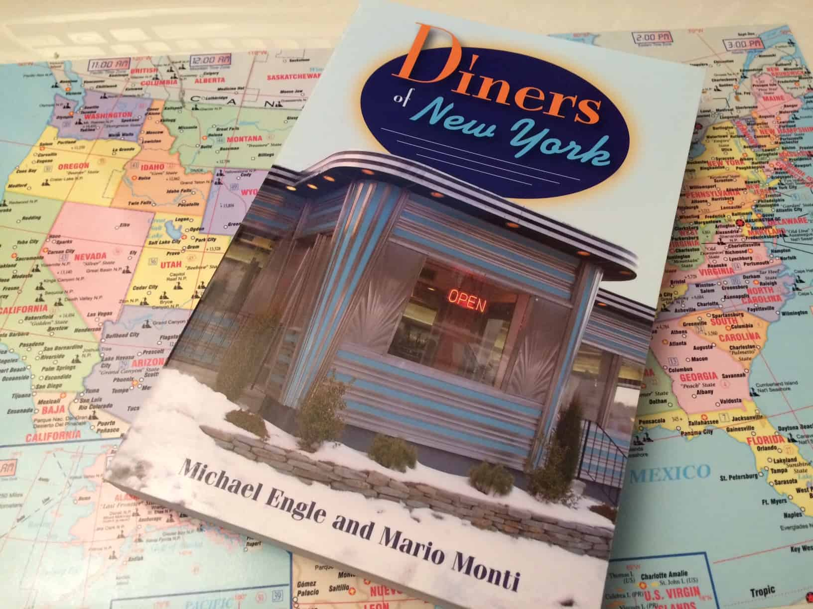 Diners of New York Book - Elizaville Diner Exterior - Retro Roadmap