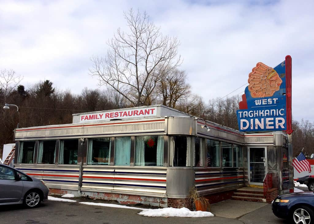 West Taghkanic Diner Ancram NY New York, Retro Roadmap
