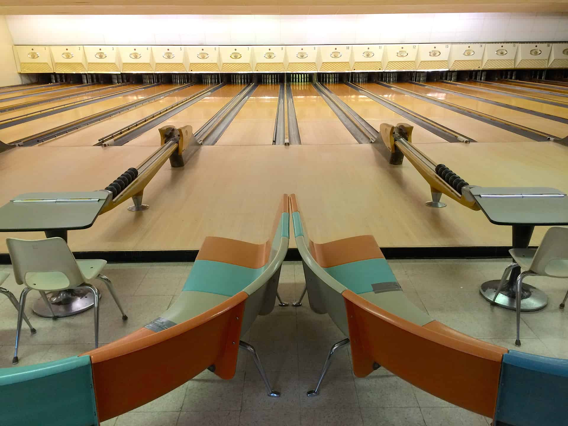 Colonial Bowling Center Candlepin Worcester MA Retro Roadmap