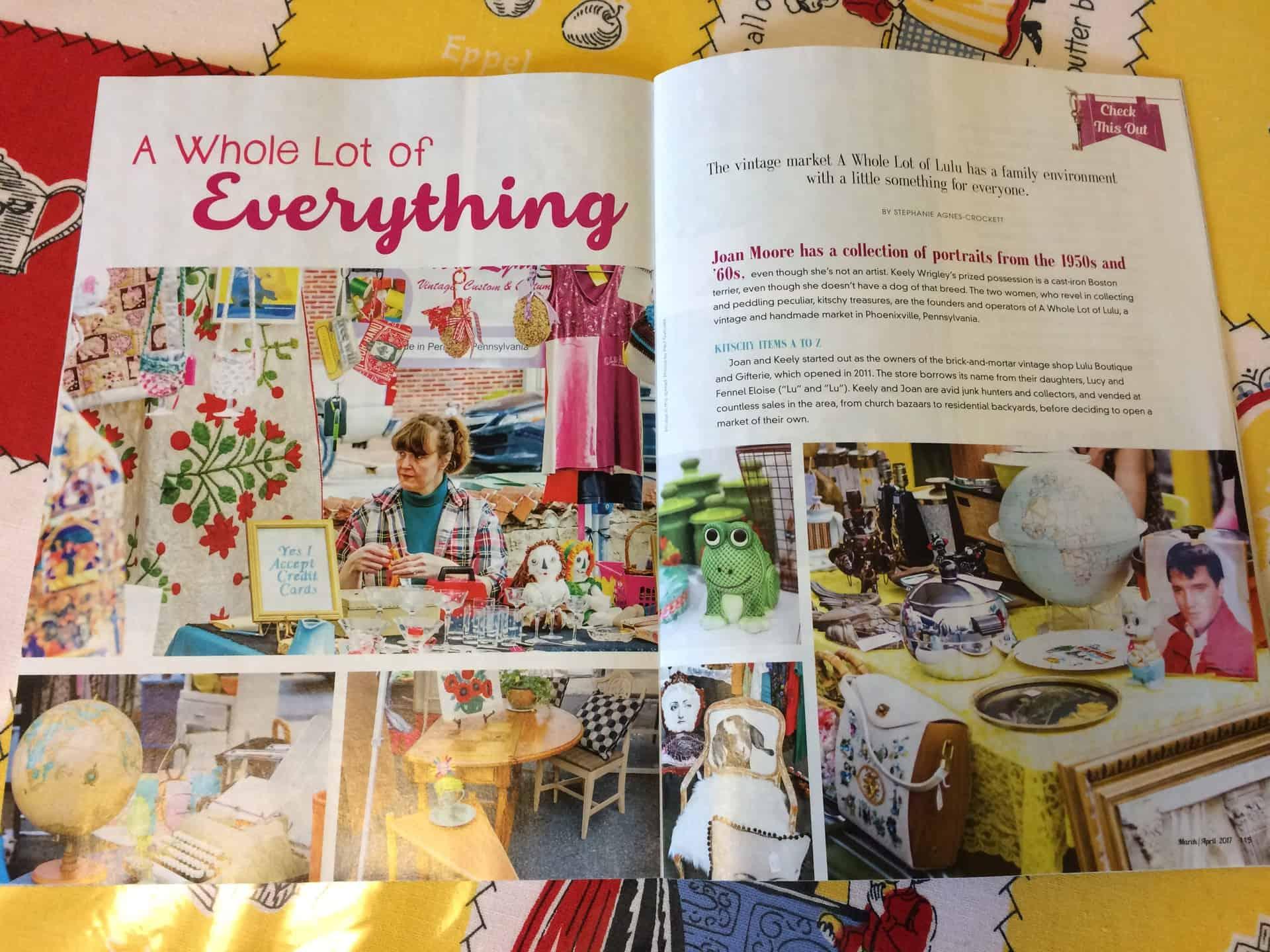 Whole Lot of Lulu Flea Market Decor Magazine - Retro Roadmap