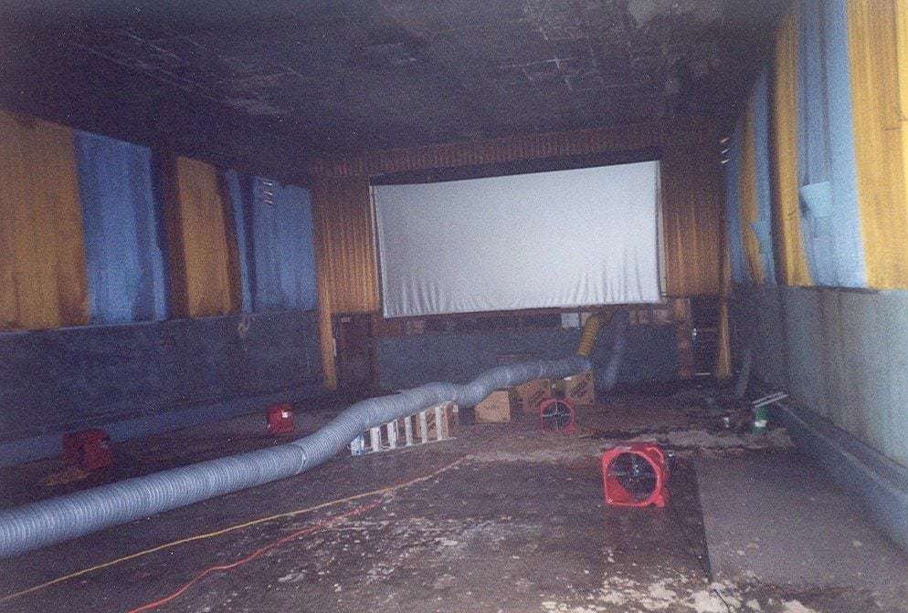 Grand Theater East Greenville PA BEFORE Renovation