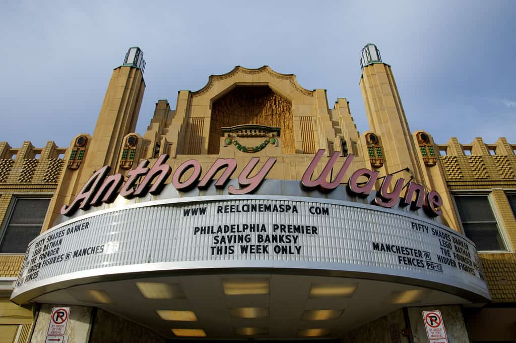 Anthony Wayne Movie Theatre - Wayne, PA, Pennsylvania - Retro Roadmap