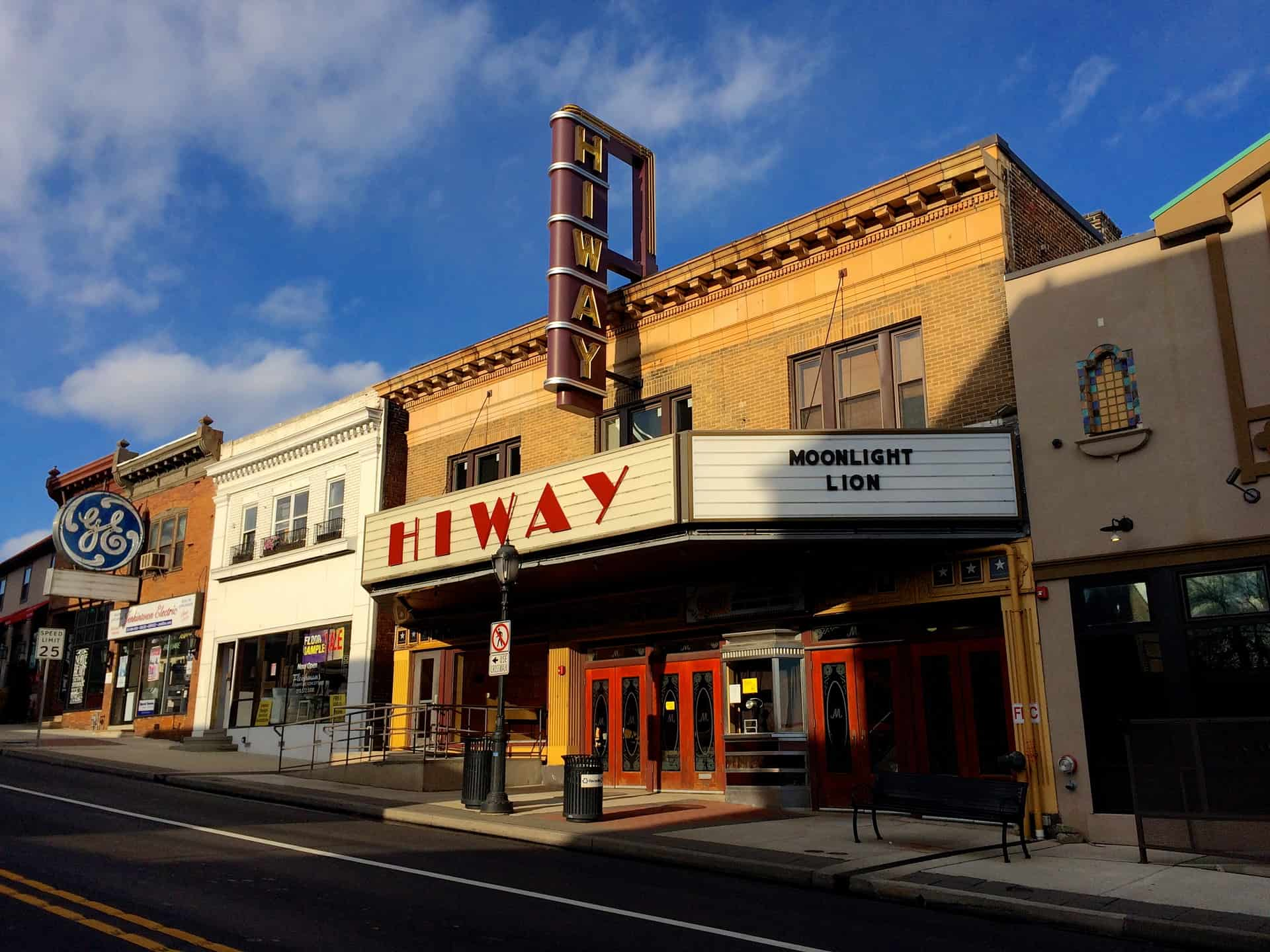 Hiway Theater Jenkintown PA - Pennsylvania - Retro Roadmap 2017