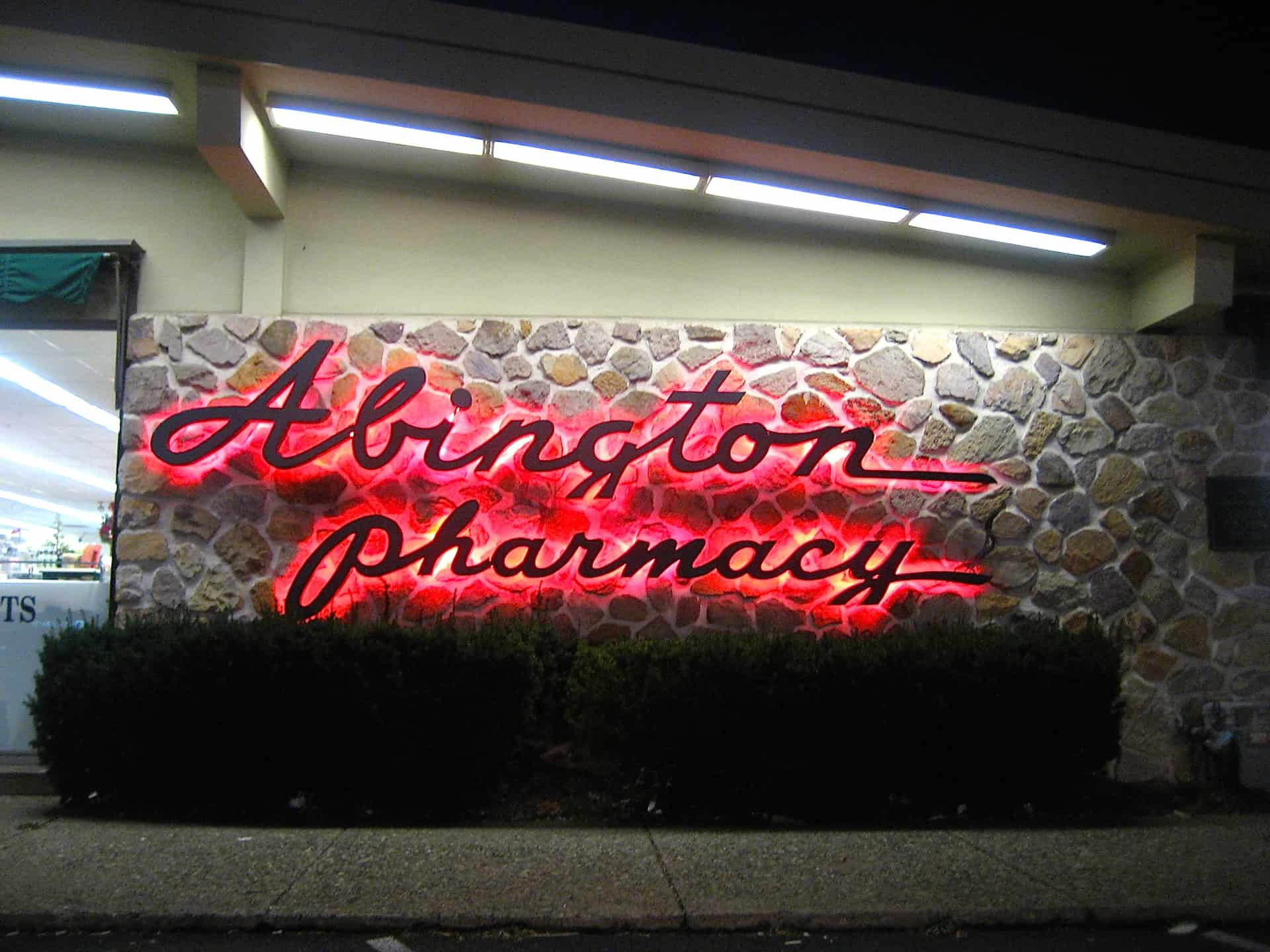 Abington Pharmacy Old York Road - Abington PA - Pennsylvania - Retro Roadmap