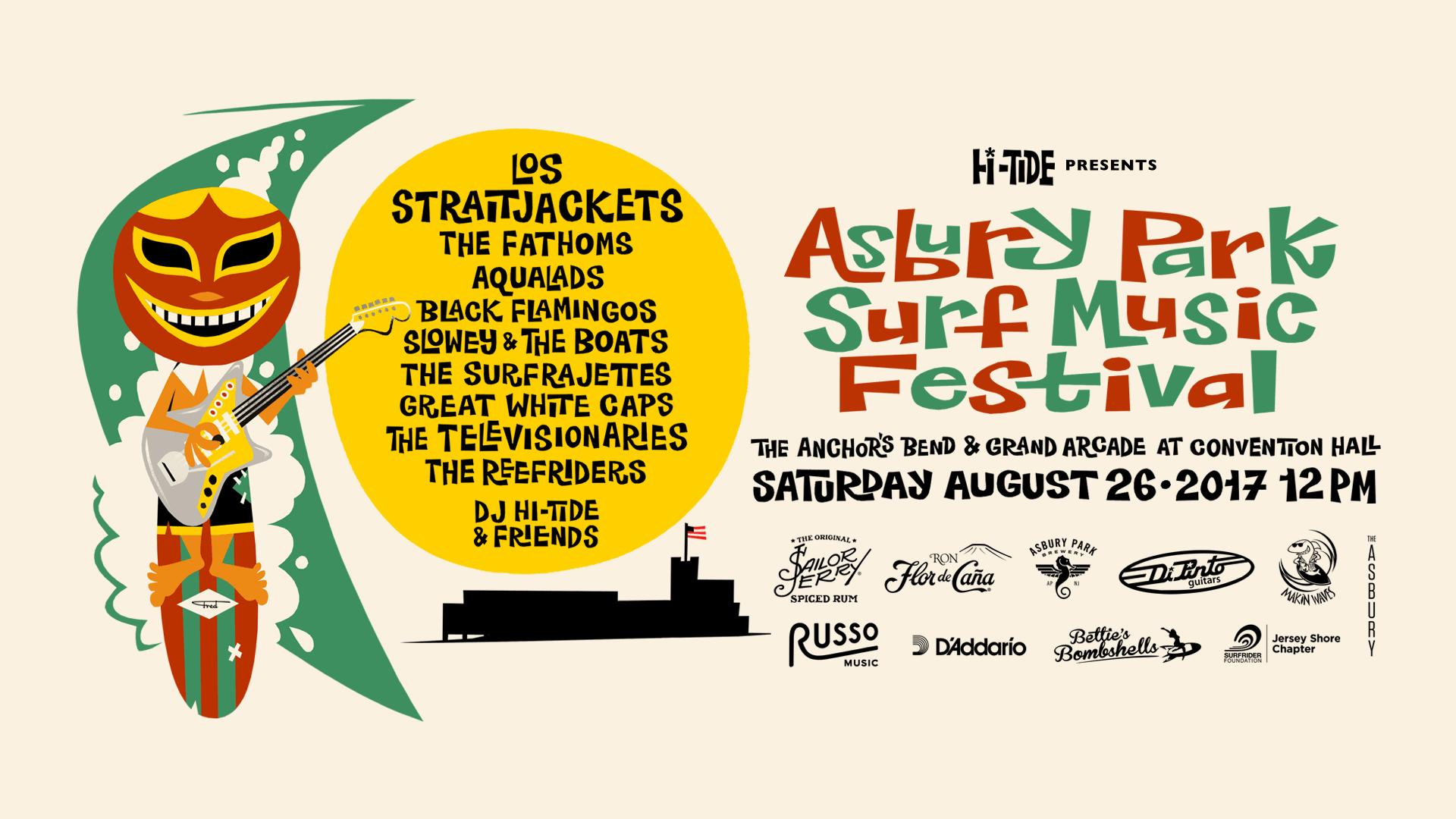 Asbury Park Surf Music Festival 2017
