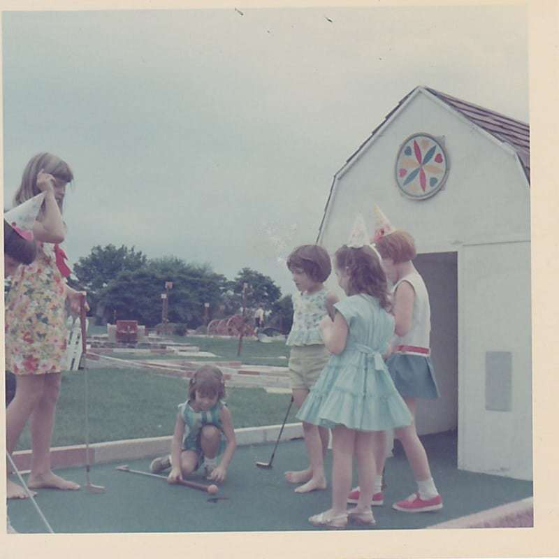 Waltz Golf Farm Limerick PA 1964 Girls