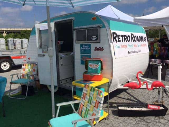 Retro Roadmap Vintage Camper 2017