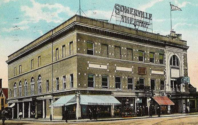 somerville theatre post card - courtesy of the somerville theatre