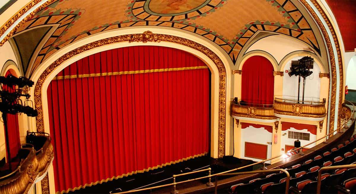 somerville theatre main auditorium - courtesy of the somerville theatre