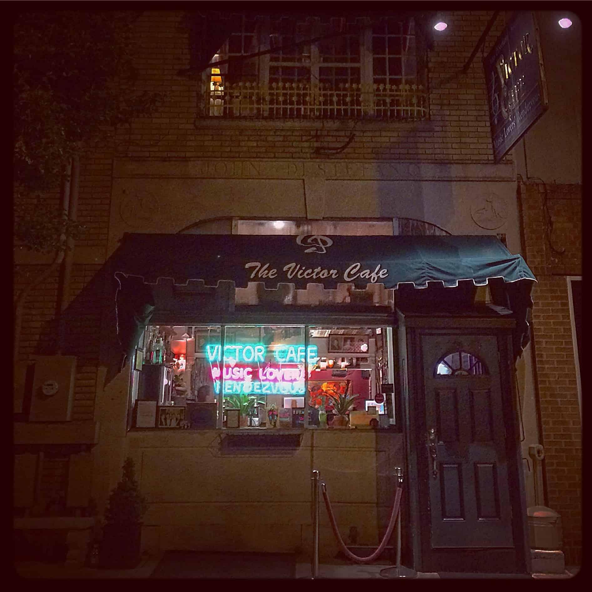 Victor Cafe Philadelphia PA - Italian Restaurant Opera Music - Retro Roadmap