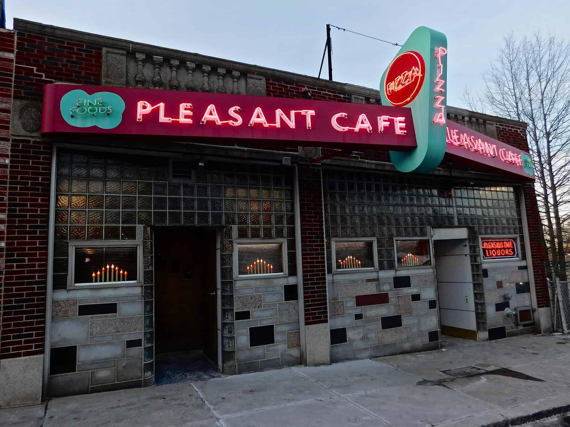 Pleasant Cafe Roslindale MA 2018 Retro Roadmap