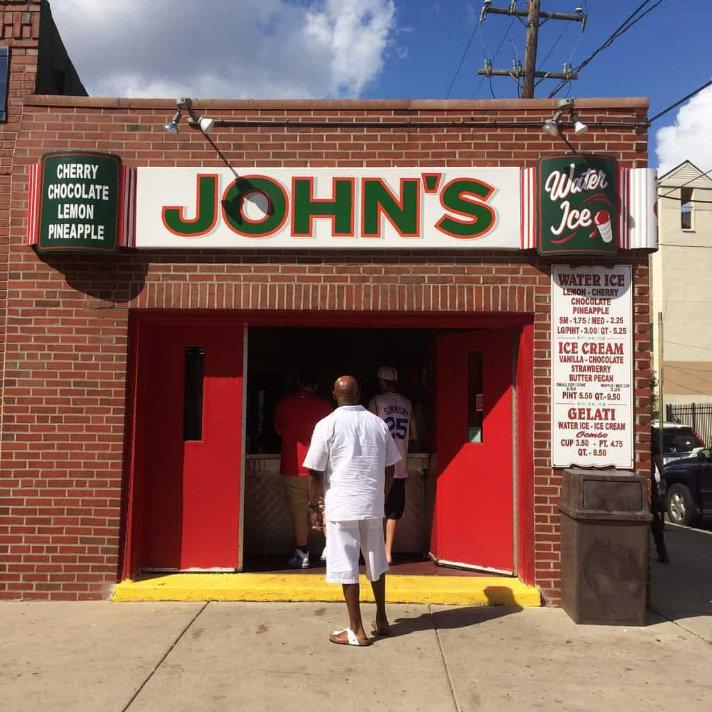 John's Water Ice - Philadelphia PA Retro Roadmap
