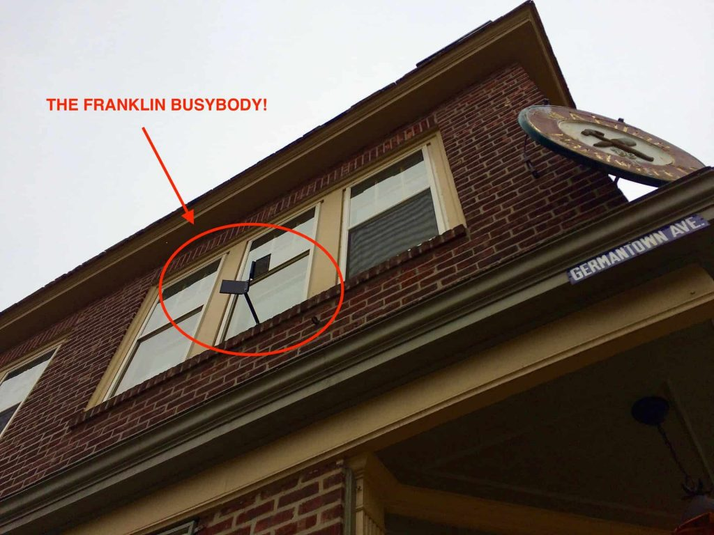 Franklin Busybody at Kilian Hardware Chestnut Hill Philadelphia