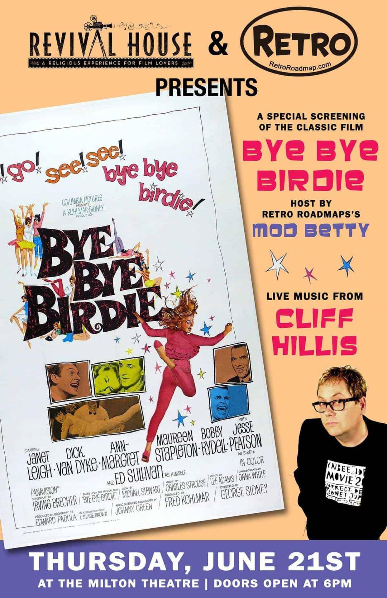 Bye Bye Birdie Milton Theatre Revival House Retro Roadmap Mod Betty 2018