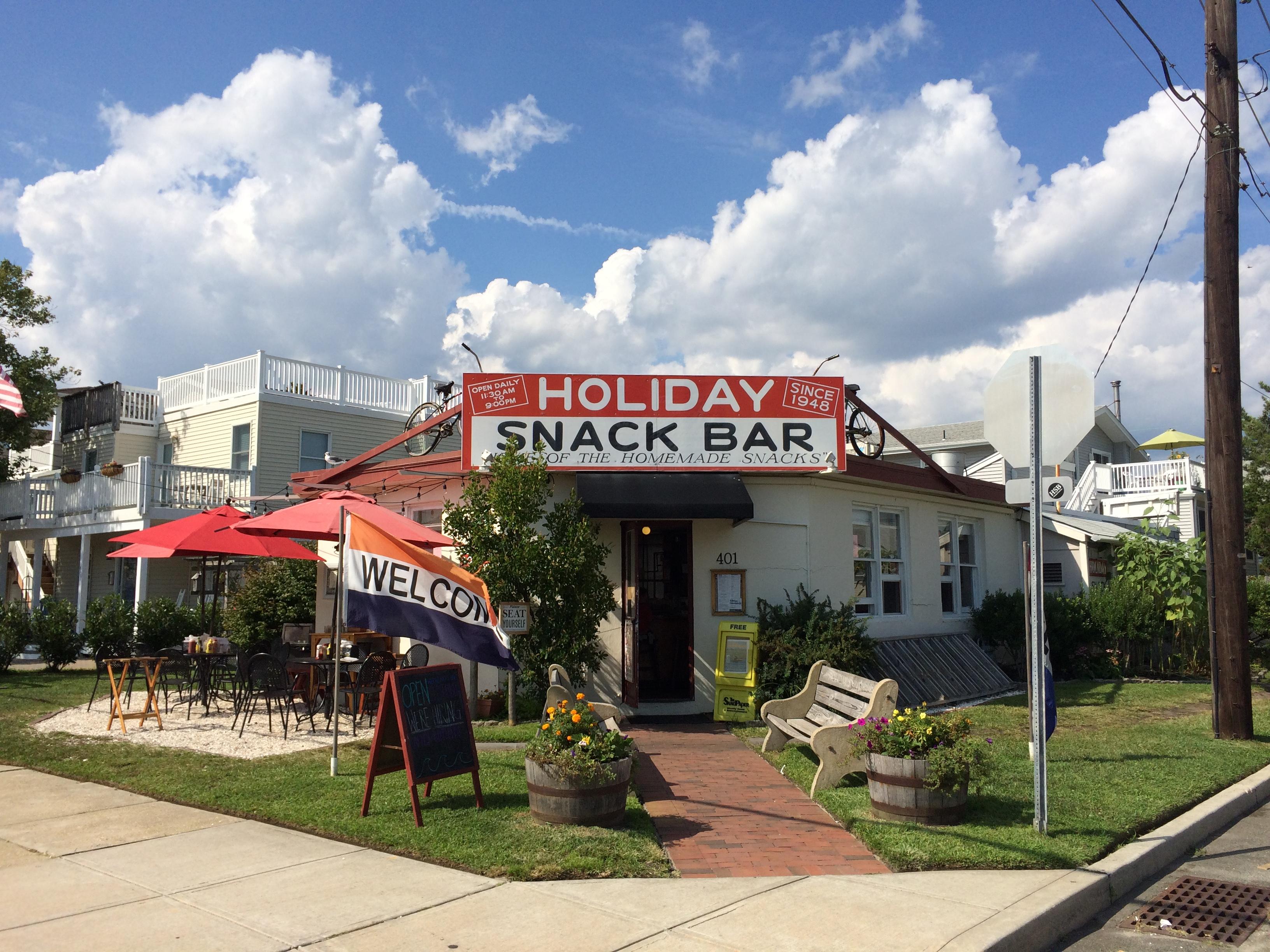Holiday Snack Bar Beach Haven NJ LBI Retro Roadmap