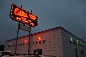 Eddie's Supper Club Neon Sign - Great Falls MT Montana - Retro Roadmap