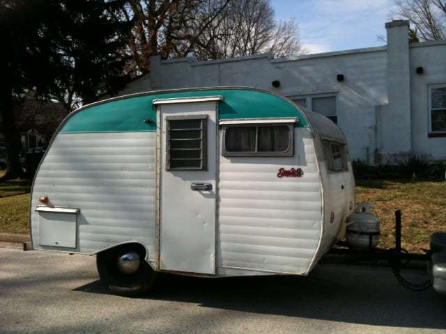 Cute Vintage Camper Meet Up! We Visit The National Serro Scotty