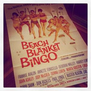 Beach Blanket Bingo Vintage Poster
