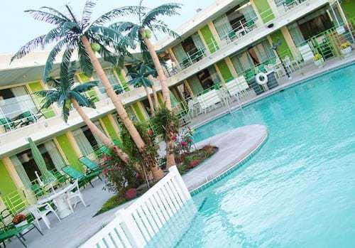 Caribbean Motel Pool Wildwood NJ