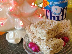 Marshmallow Fluff Rice Krispie Marshmallow Treats Retro Roadmap