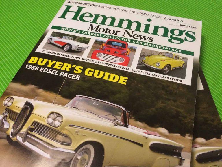 Hemmings Motor News January 2015