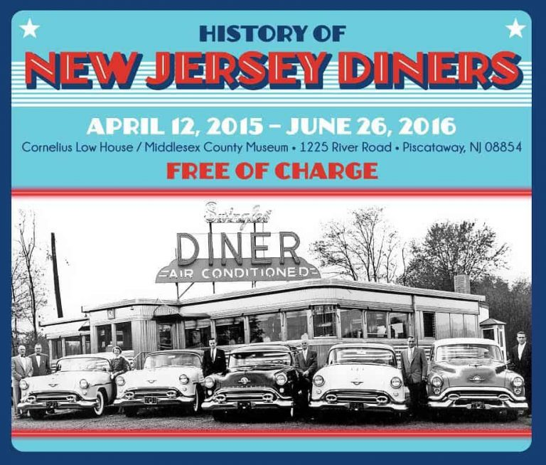 New Jersey Diners Exhibit Retro Roadmap