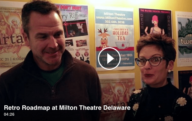retro roadmap milton theatre video delaware mod betty
