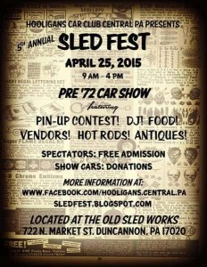 Sledfest 2015 Retro Roadmap