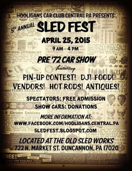 Sledfest 2015 Retro Roadmap