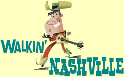 Walkin Nashville Logo Music City Legends Guided Walking Tour